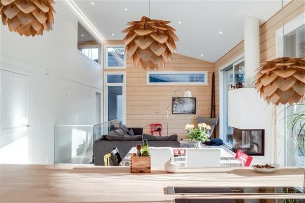 Asuntomessut — inspiraatiota olohuoneen valaistukseen