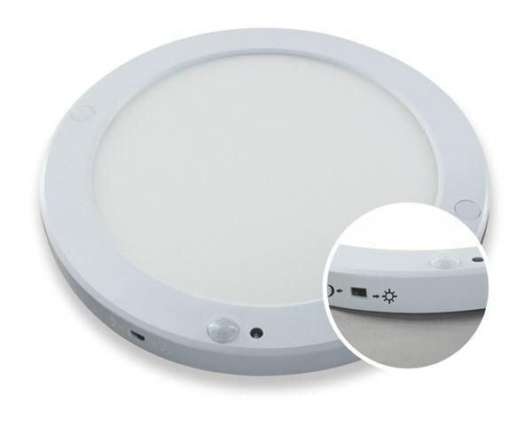 LED-paneelivalaisin LILJA 18W IP44 Valkoinen
