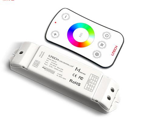 E.Lite Superline RGB LED-nauha 3m (tehon ja värin säätö kaukosäätimellä)