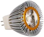 LED-MR11/G4, 140 lm, 1W, avauskulma 45°