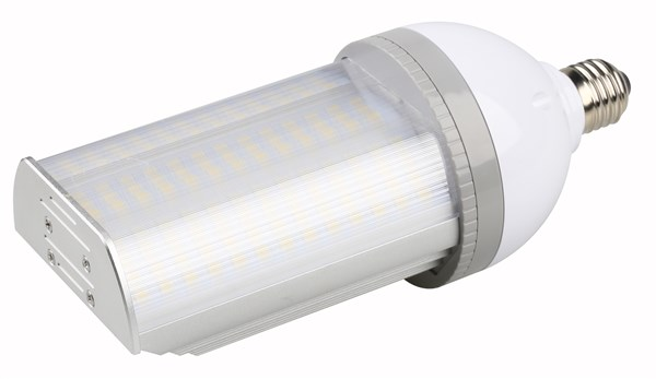 LED-E27, 3375lm, 27W, 180°, 93x232mm, IP64