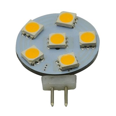 LED-G4, 118 lm, 1.2W, Ø25mm, kolikkomalli