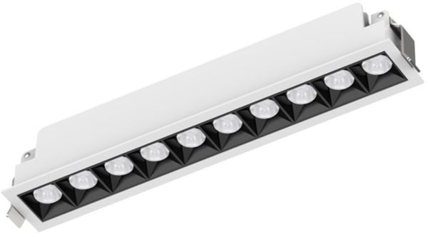 LED-alasvalo LINA, 25W, 1820lm, 280*45*51mm, valkoinen